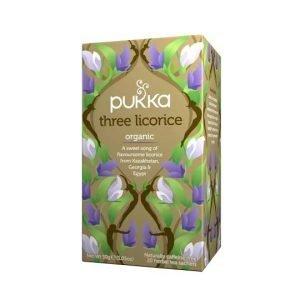 Pukka Three Licorice 20 Tea Sachets