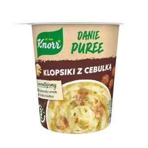 Knorr Danie Puree Klopsiki z Cebulka