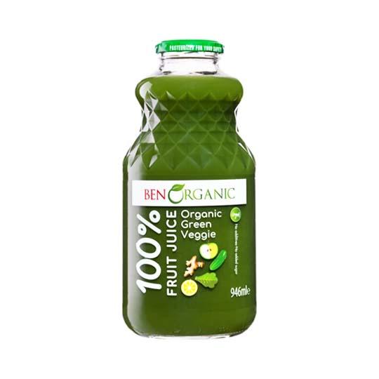 Ben Organic Green Veggie Juice