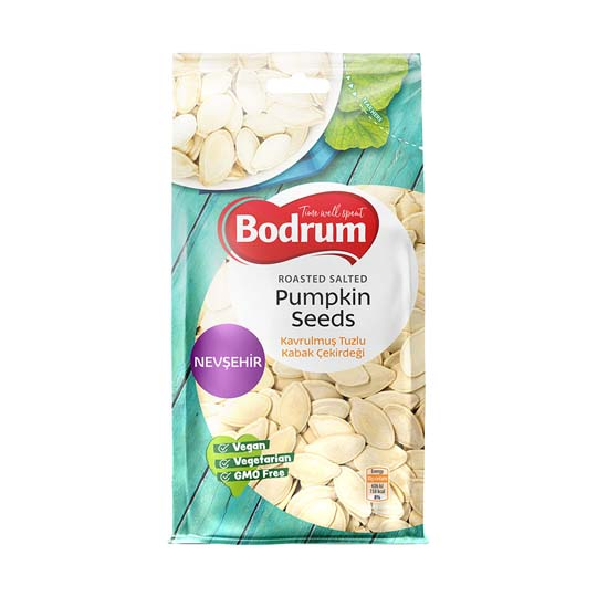 Bodrum Roasted & Salted Pumpkin Seeds
