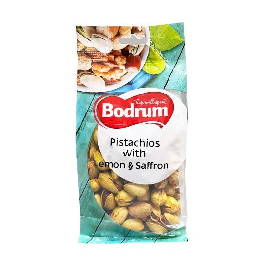 Bodrum Pistachios with Lemon & Saffron