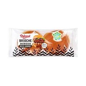 Dulcesol Brioche Burger Buns 340g