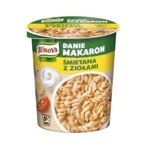 Knorr Danie Makaron Śmietana z Ziołami 59g